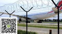 机场钢筋网围界@临溪机场钢筋网围界@机场钢筋热镀网围界厂