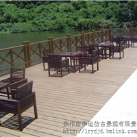 供应焦作地区防腐木工程