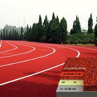 环保复合型塑胶跑道材料 施工工艺