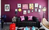 一面精心设计的沙发背景墙, 会让客厅漂亮更多, 看完你就知道了!-沙发背景墙贴
