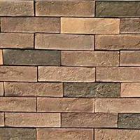 内蒙古文化砖别墅外墙砖各种色系仿古砖厂家供应红黄黑白砖图片