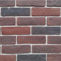 河南文化砖别墅外墙砖仿古砖厂家供应红黄白黑灰色系外墙砖