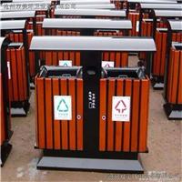 户外分类果皮箱垃圾桶 街道小区环保垃圾桶 240L铁质垃圾桶