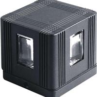 供应正方形十字壁灯 窄光束十字射灯  十字星光壁灯