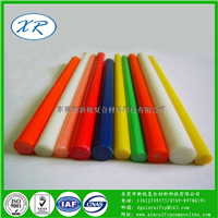 长期生产1.0~60mm圆棒 玻璃纤维棒规格齐全 实心玻纤棒定做批发