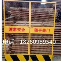 广西施工电梯防护门厂家  南宁电梯井防护门价格