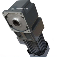 B250Y38L-10RT精研250W直角实心轴减速刹车电机