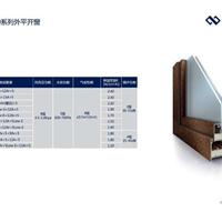 聚氨酯门窗 GR60系列外开窗 节能门窗 防火窗 门窗型材