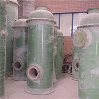 玻璃钢湿法脱硫吸收塔便于实现多级除尘-润龙