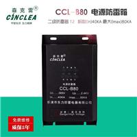 CCL-B80普及型电源防雷箱40KA-80KA2级防雷箱