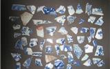碎掉的瓷器还有价值吗——古瓷片里的学问-老瓷片古瓷片明代碗底