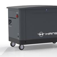 10KW集装箱式汽油发电机