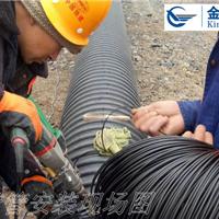 河南钢带管工程_金鹏钢带增强螺旋波纹管_电热熔带连接技术说明