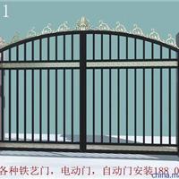 优惠,上海铁艺门,电动铁艺平移门