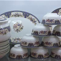 批发陶瓷消毒餐具餐具直销加工陶瓷碗碟子盘子定做陶瓷器皿容器