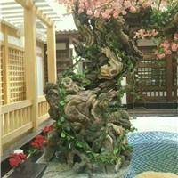 上海水泥假树制作
