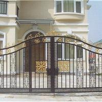 云南昆明铝艺门厂家,铁艺门厂家,别墅庭院门