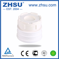 上海中塑pvc清扫口pvc管堵pvc堵头管材管件批发厂家直销