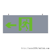 安科瑞壁挂式集中电源集中控制型疏散指示灯具A-BLJC方向可调