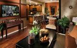 经济时尚两不误 客厅背景墙装修欣赏-客厅背景墙贴