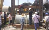 II级钢筋混凝土排水管外压荷载试验方法-排水管中间段更换方法