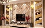 艺术拼镜背景墙的安装方法与注意事项-电视背景墙的设计