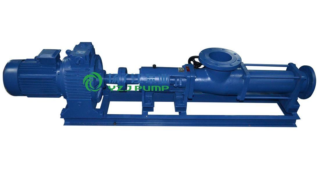 供应螺杆泵型号:G型单螺杆泵配调速电机