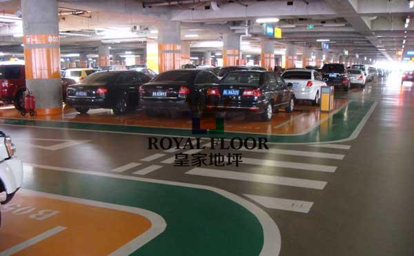 停车场环氧地坪翻新