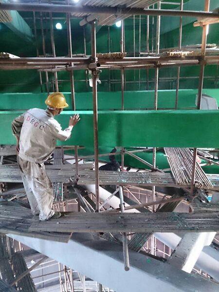 乙烯基玻璃鳞片胶泥防腐涂层施工要求