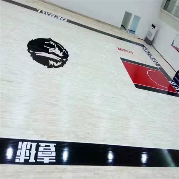 运动木地板 室内篮球馆木地板