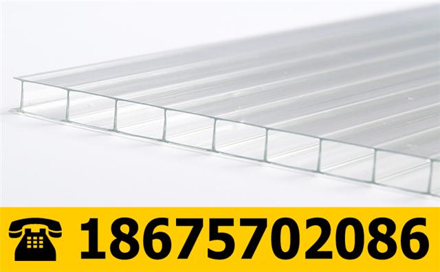 6mm透明PC阳光板
