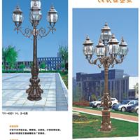 供应特色LED铸铝铸铁复古欧式庭院灯