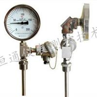径向型双金属温度计轴向型双金属温度计厂家