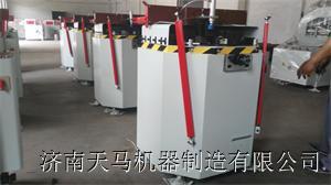 济南天马专业生产铝合金平开窗的设备厂家