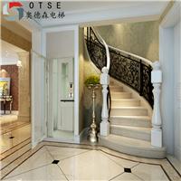 OTSE 钢架结构家用木装潢小型别墅电梯