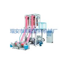 供应SJ双机头薄膜吹膜机幸福塑料机械厂