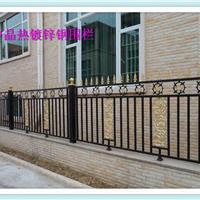 启东围墙护栏厂家对热镀锌锌钢草坪护栏制作与使用范围没有限制