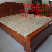供应莱阳木头床 实木床厂家