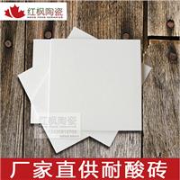 工业酸池耐酸瓷砖素面釉面耐酸砖防腐地面砖