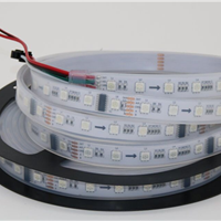 供应5050LED全彩灯条DMX512 24V 60灯一米