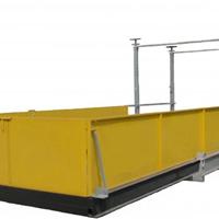 供应伸缩式卸料平台,施工接物平台