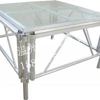 供应铝合金玻璃舞台 钢化玻璃舞台价格