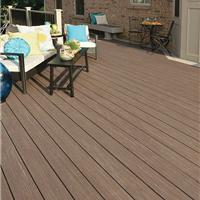 孝感生态木塑木地板WPC环保再生木PVC长城板