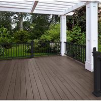 周口生态木塑木地板WPC环保再生木PVC长城板