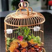 供应酒店餐厅创意餐饮餐具 鸟笼菜盘餐具