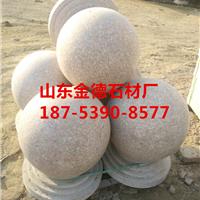 五莲红花岗岩圆球价格,花岗岩圆球报价