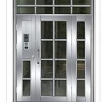 胶州可视对讲门不锈钢门优选泰明门业