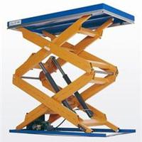固定剪叉升降平台载货升降机10吨价格
