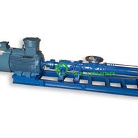 供应螺杆泵型号:G型单螺杆泵