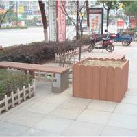 木塑花箱 户外花箱 防腐花箱 安徽塑木花箱